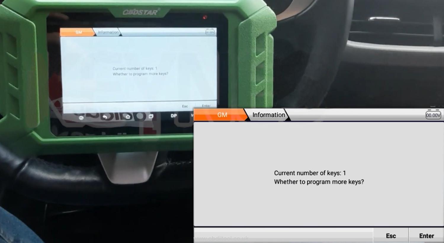 Obdstar X300 Pro4 Program Chevrolet 4a Chip Smart Key Akl 12