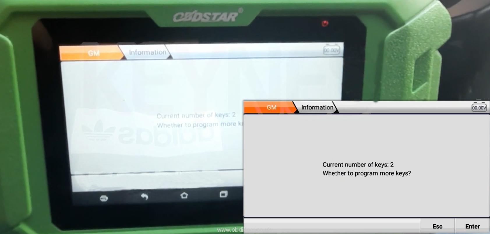 Obdstar X300 Pro4 Program Chevrolet 4a Chip Smart Key Akl 13