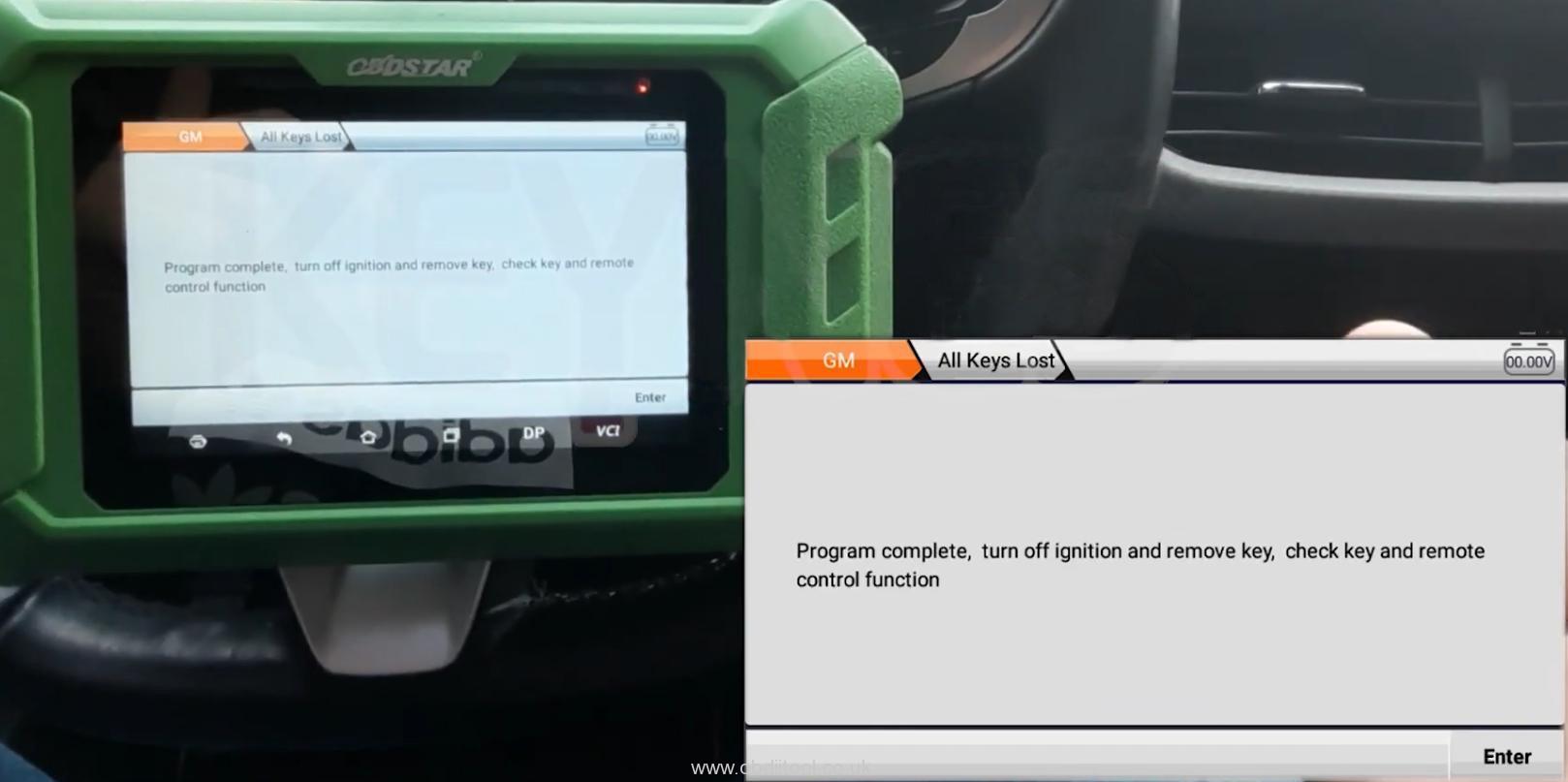 Obdstar X300 Pro4 Program Chevrolet 4a Chip Smart Key Akl 14