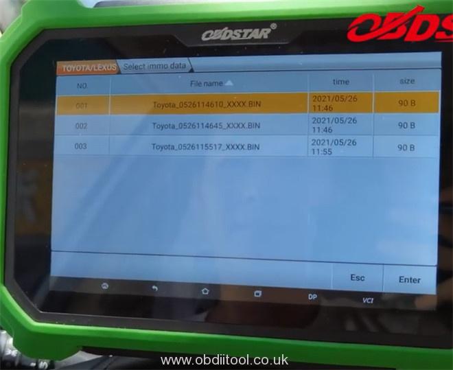 X300 Dp Plus Program Toyota 8a H Akl 14