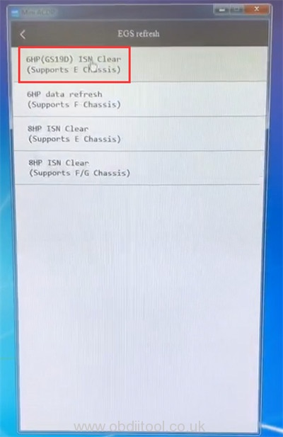 Yanhua Acdp Bmw E 6hp Refresh Error Solution 8