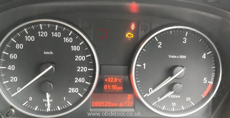Bmw Diagnosis&service Light Reset By Xtool H6 Pro 6
