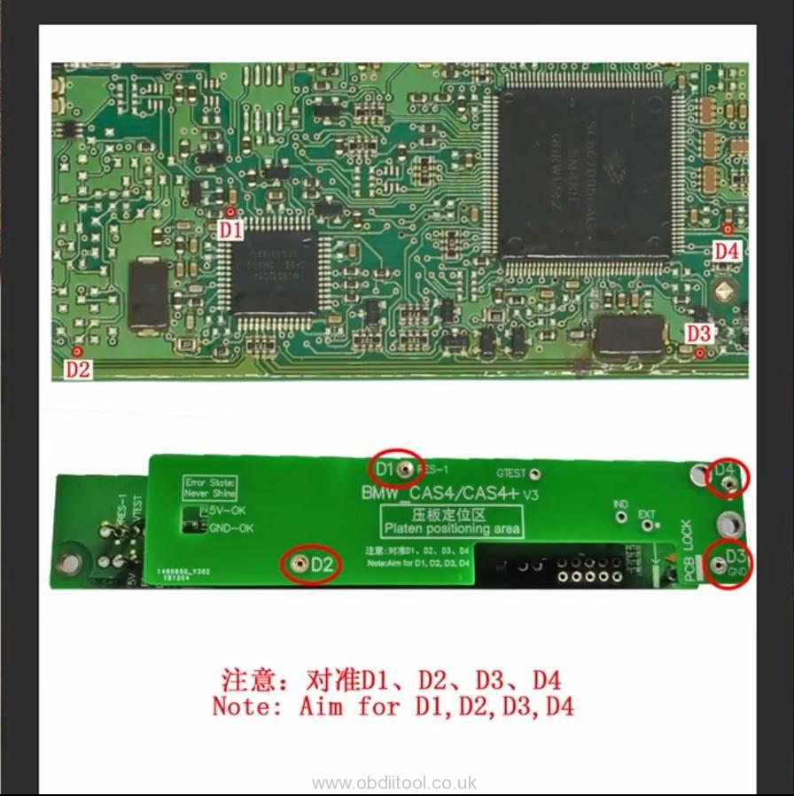 How To Program Bmw Cas4+ Keys By Yanhua Mini Acdp 4