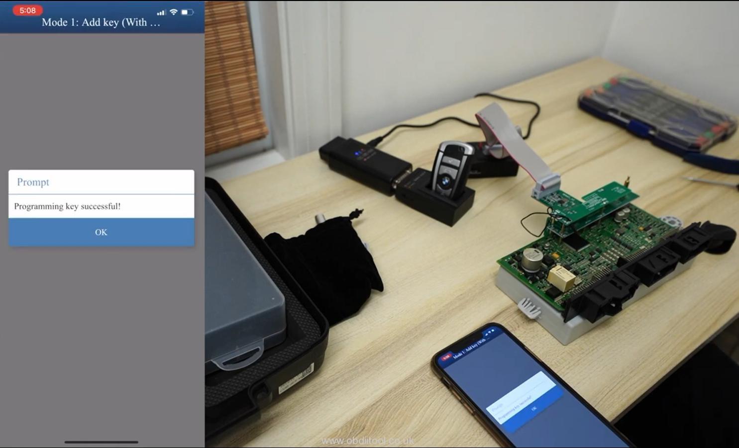 How To Program Bmw Cas4+ Keys By Yanhua Mini Acdp 9