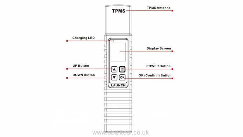 Bind Launch X431 Tsgun Wand With X431 Scanner (2)