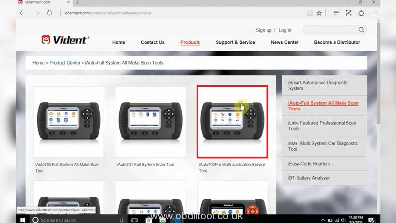 Register Update Vident Iauto702 Pro Scan Tool (3)