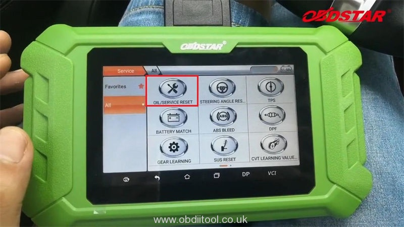 Maserati Oil Reset Epb Reset Affordable Tool Obdstar X200 Pro2 (3)