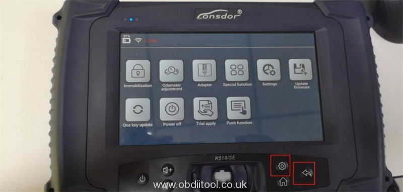 Solution Lonsdor K518is K518s Device Fault26 Error (2)