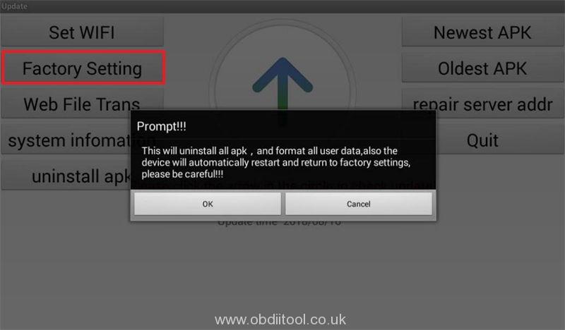 Solution Lonsdor K518is K518s Device Fault26 Error (3)